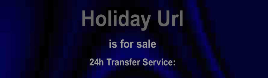 Holiday Url .com is for sale at Names Url .com: - 10% of the sale value will be donated to Rock against Child Pornography, when purchased via ebay.
