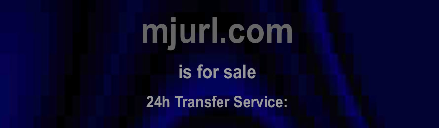 Mjurl .com is for sale. 10% of the sale value  will be donated to Rainforest Saver Foundation, if the domain is purchased via ebay.