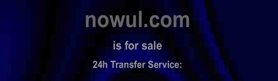 Nowul .com is for sale. 10% of the sales value will be donated to Surfers Against Sewage, when purchased via ebay.