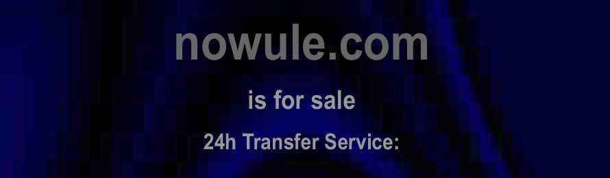 Nowule .com is for sale. 10% of the value value will be donated to The African Conservation Foundation.