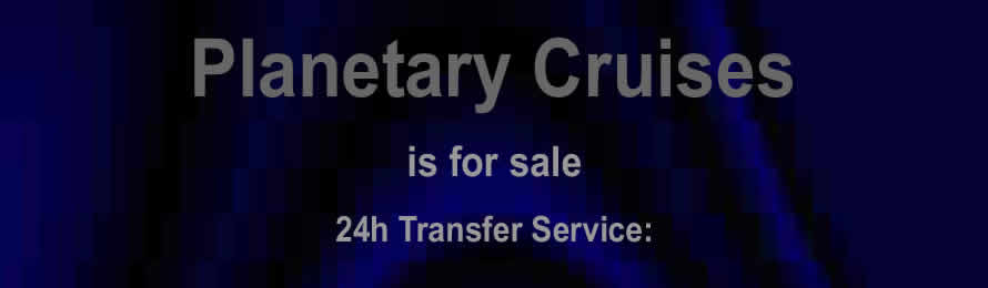Planetary Cruises .com is for sale via Names Url .com: - 10% of the sale value will be donated to Just One Ocean, when purchased via ebay.